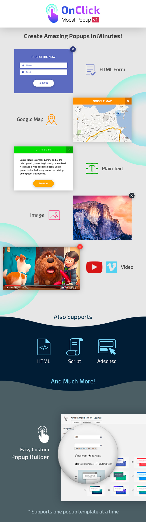 OnClick Modal POPUP - 1