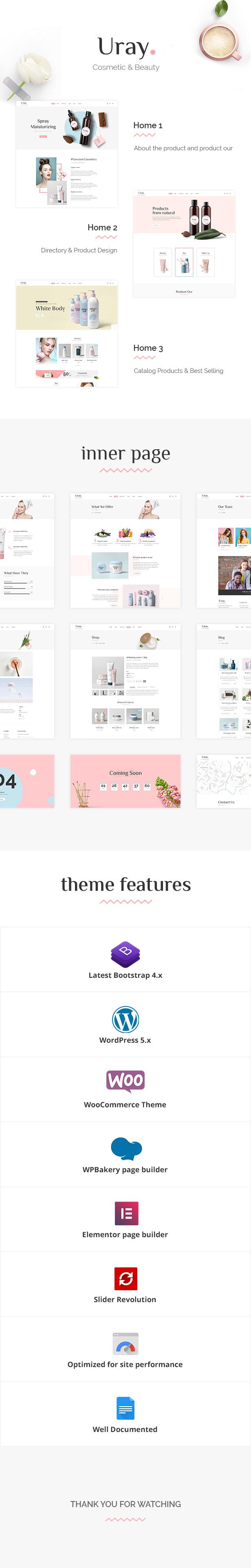 Cosmetic & Beauty Shop WordPress WooCommerce Theme - 1