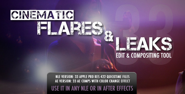 Cinematic Flares & Leaks