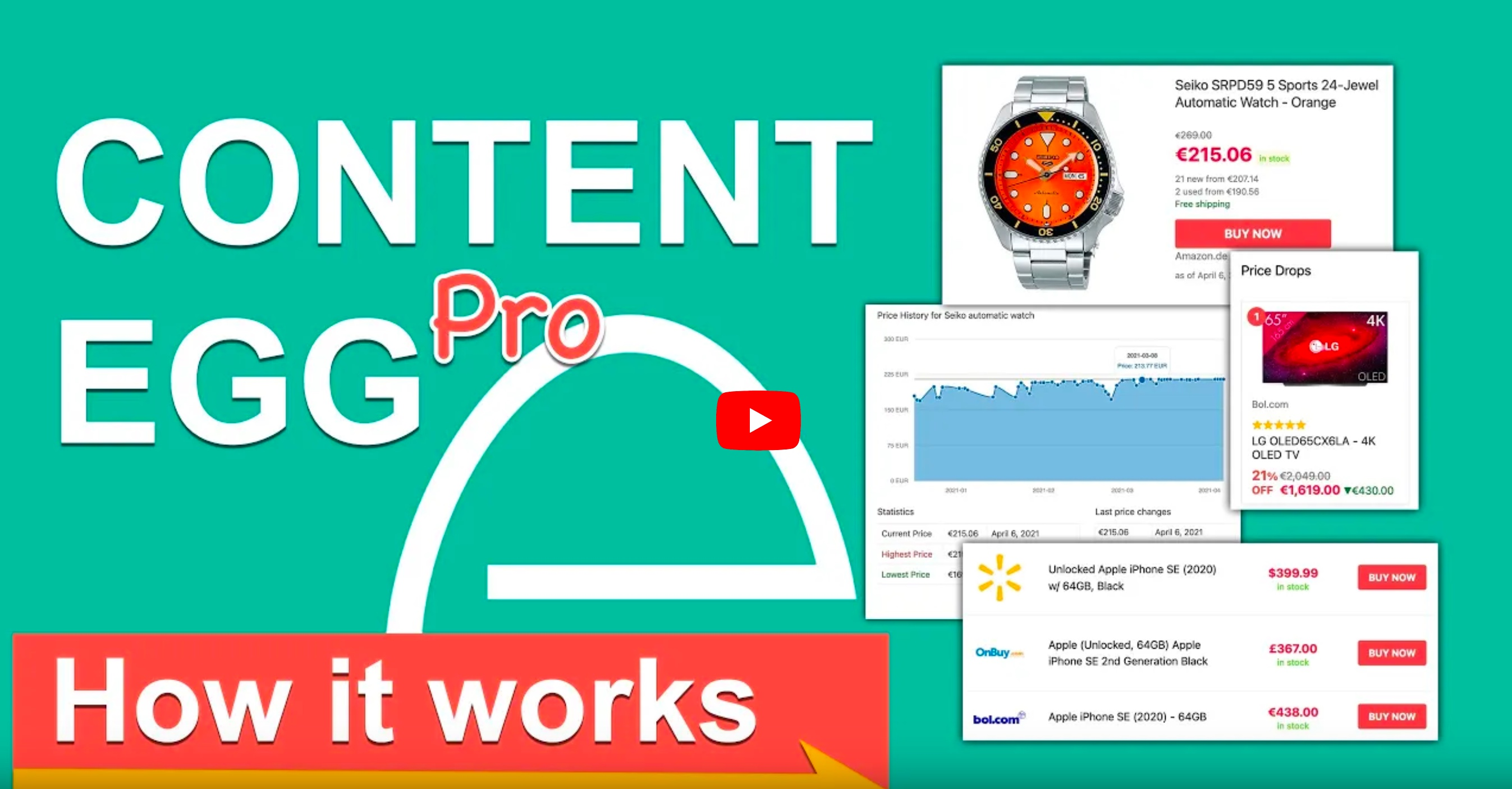 Content Egg - How it works