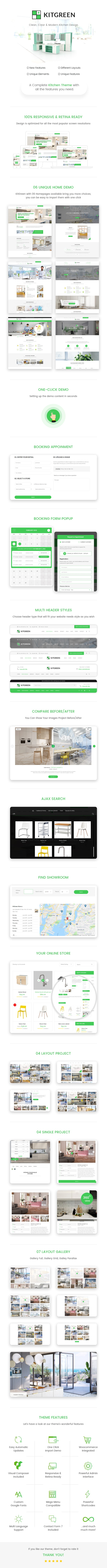 Modern Kitchen & Interiror Design WordPress Theme