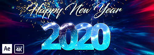 Fantastic New Year Countdown 2020 After Effects Template