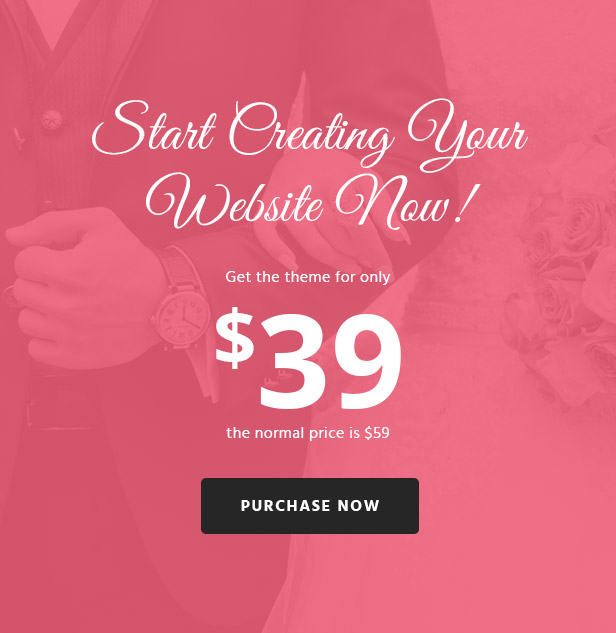 WoWedding - Wedding Oriented WordPress Theme - 6