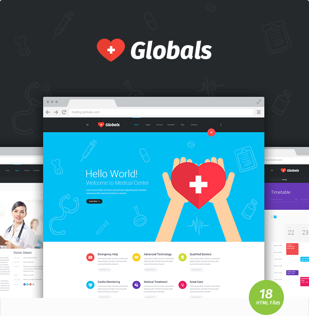 Globals - Material & Bootstrap HTML Template - 7
