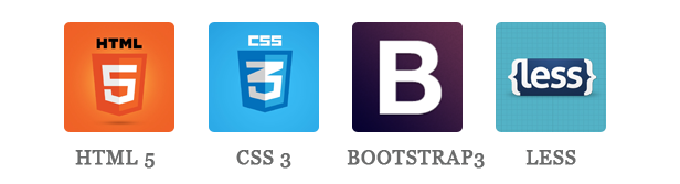 Supershop - HTML5, CSS3, BOOTSTRAP & LESS