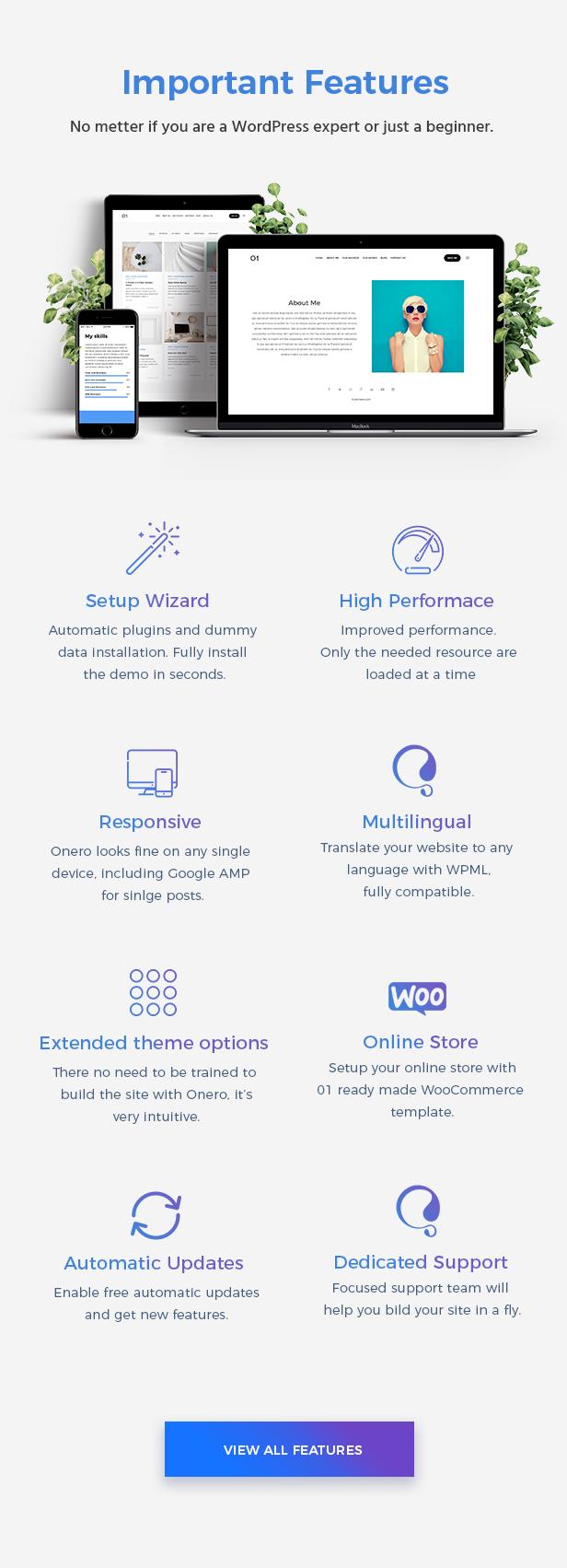 Onero | Creative Portfolio Theme for Professionals - 9