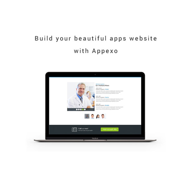 Appexo App Landing Page. - 5