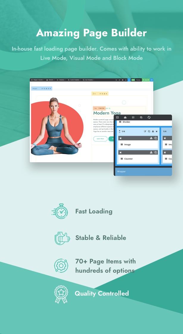 Yoku - Yoga Studio & Ayurveda WordPress - 12