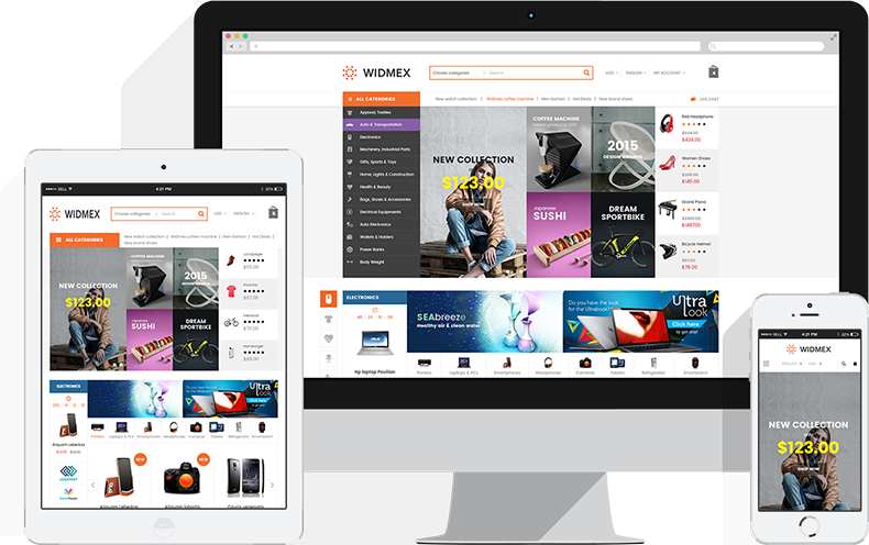 A Fully Functional eCommerce Prestashop Theme - Fully Responsive