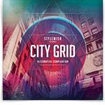 City Grid CD Cover Artwork
