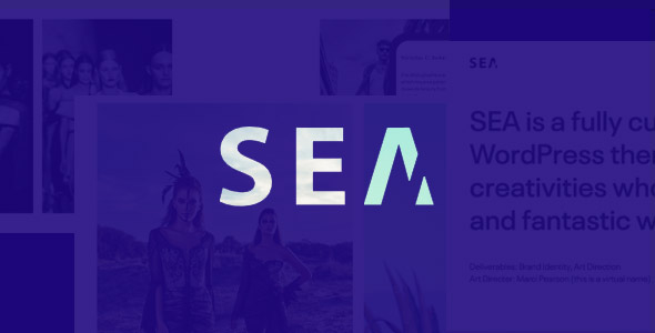 SEA Responsive Creative Multi-Purpose WordPress Theme