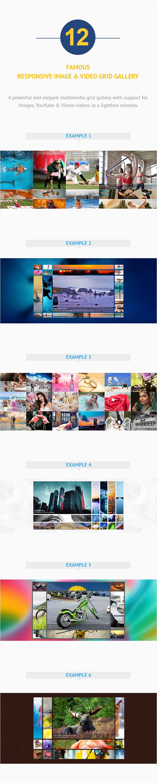 WPBakery Addon – Famous - Responsive Image & Video Grid Gallery for WPBakery Page Builder (formerly Visual Composer)