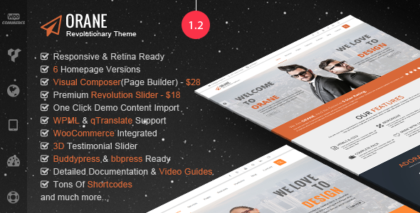 Orane - An Evolutionary WordPress Theme