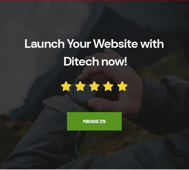 Launch Your Website with Ditech now