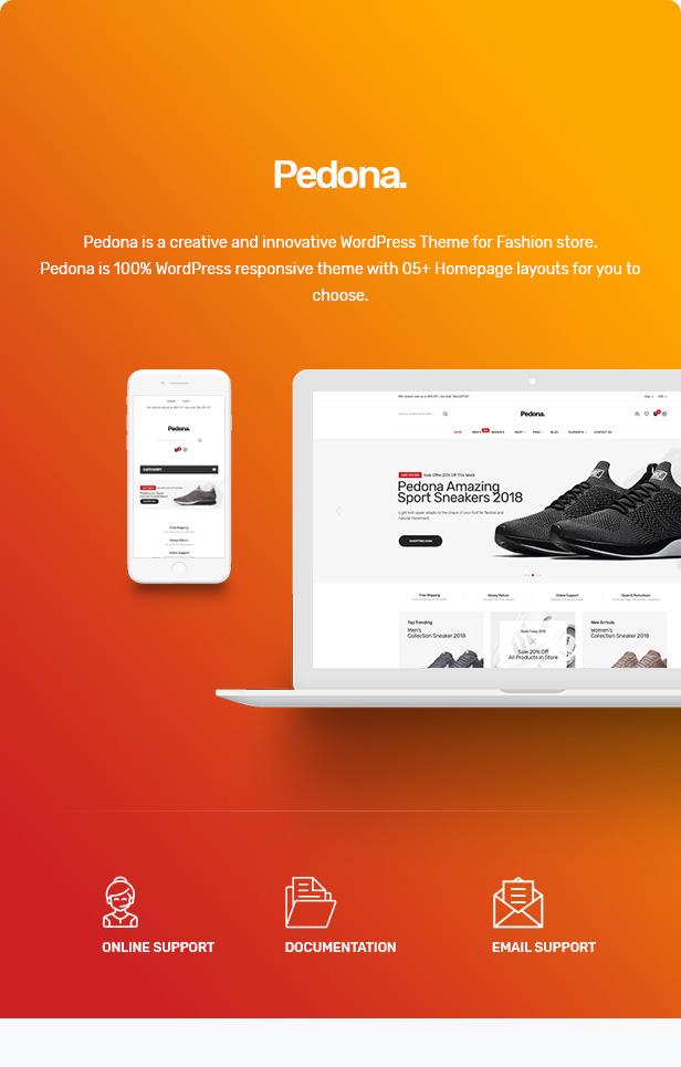 Pedona - Fashion & Sport Theme for WooCommerce WordPress 31