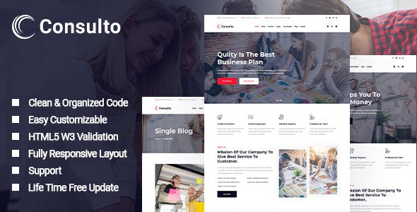 Consulto - Consulting Business HTML5 Template