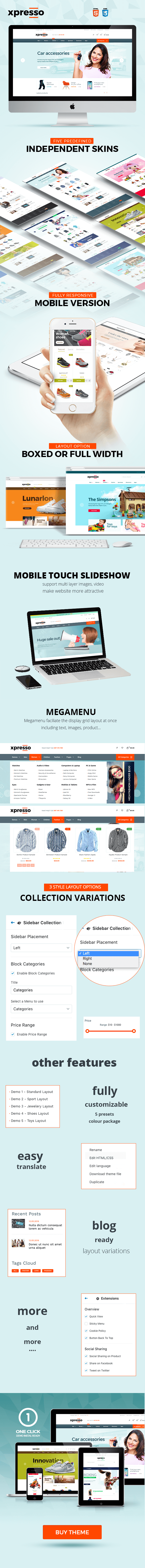 xpresso multipurpose responsive shopify theme