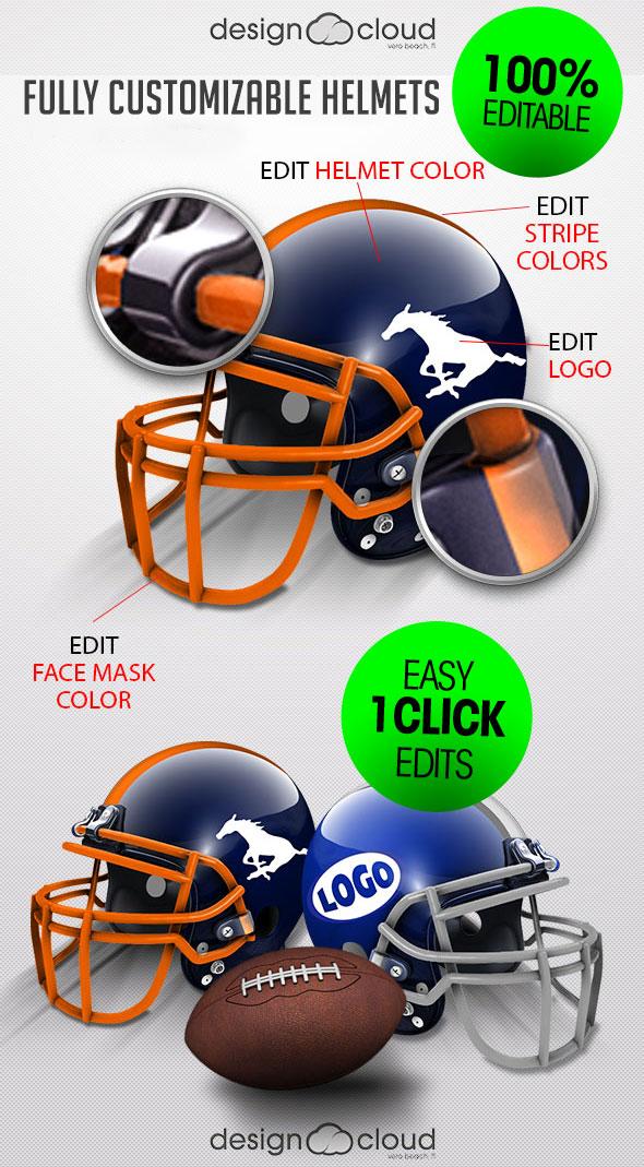 football helmet designs templates vast