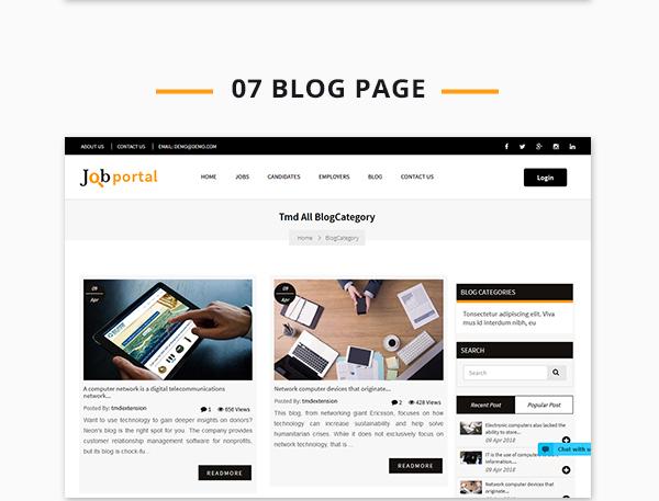 Job Portal Script blog