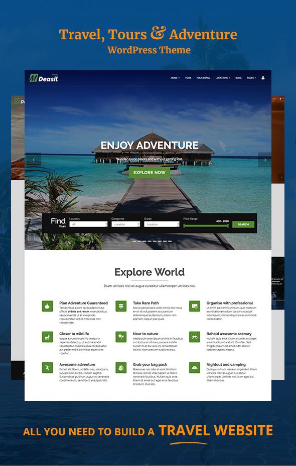 install wordpress theme on free account