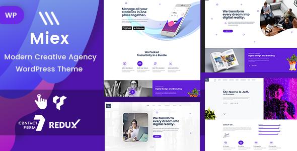 Pixer - Digital Agency WordPress - 1