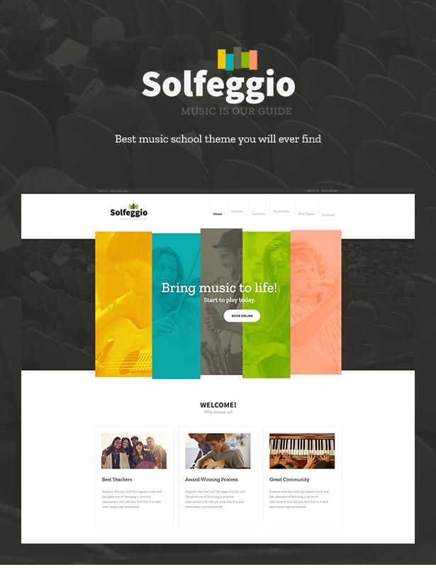 Solfeggio -  Music School Theme