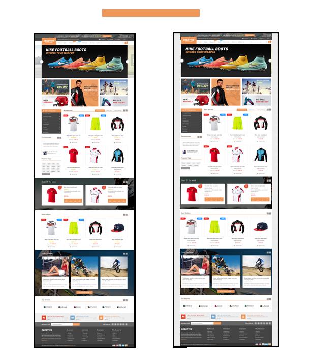 Creative - Homepage