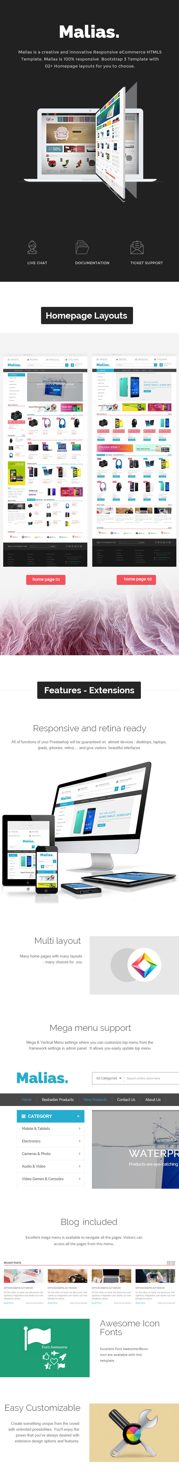 Electronics Shop eCommerce HTML Template