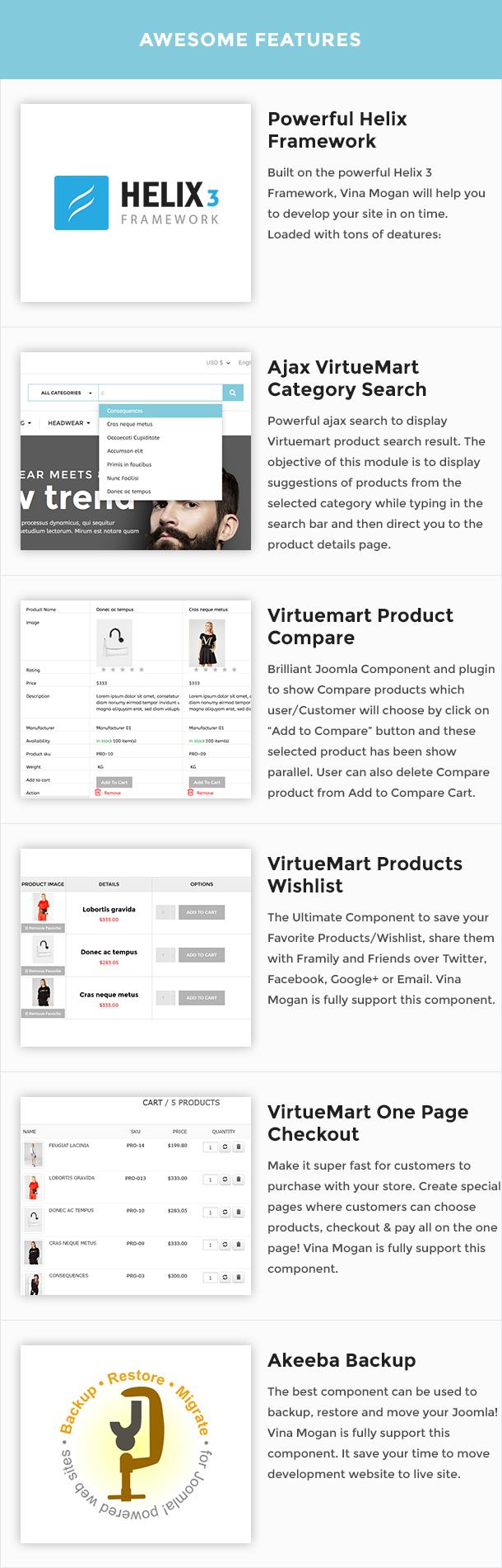 Vina Mogan - Responsive VirtueMart Fashion Template - 15