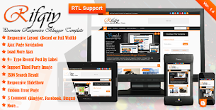 Mkrflat responsive magazine news blogger theme by for E magazine templates free download