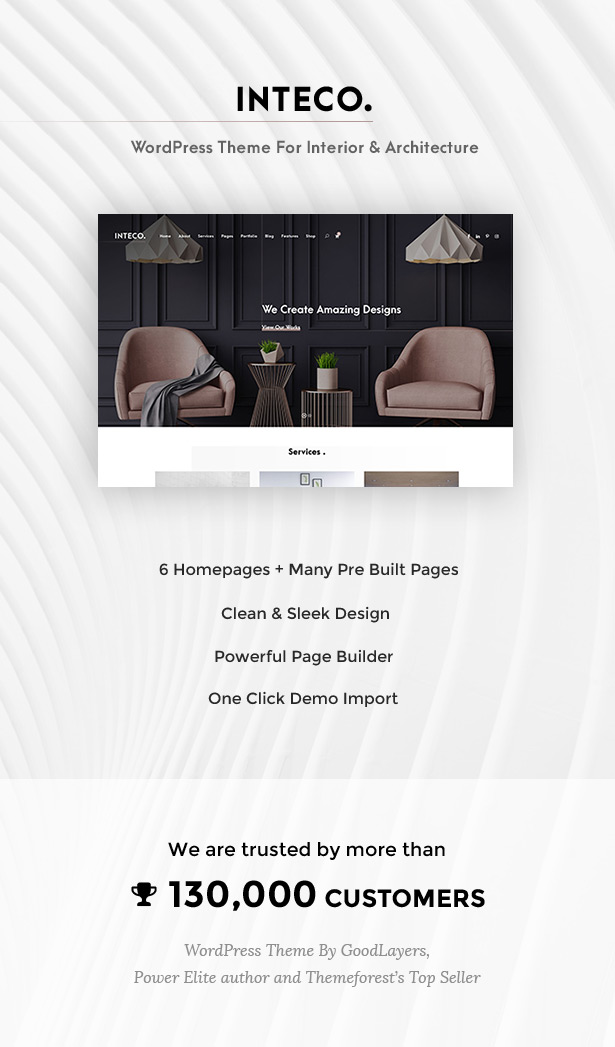 Inteco - Interior & Architecture WordPress Theme - 1