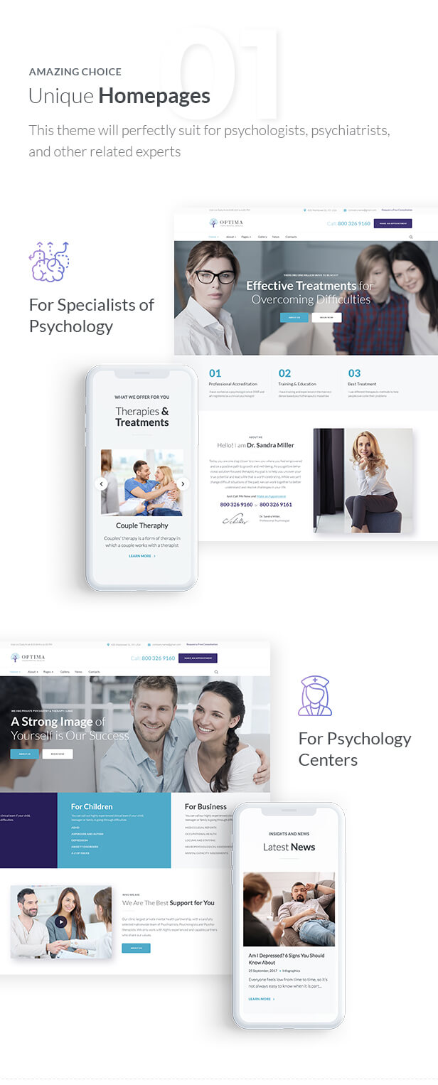 Optima - Psychology and Counseling - 2