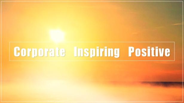 Corporate Inspiring Positive - 1