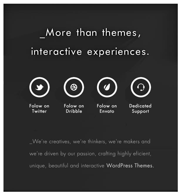LOOP Interactive - Creative & Unique WordPress Themes Beautifully Designed