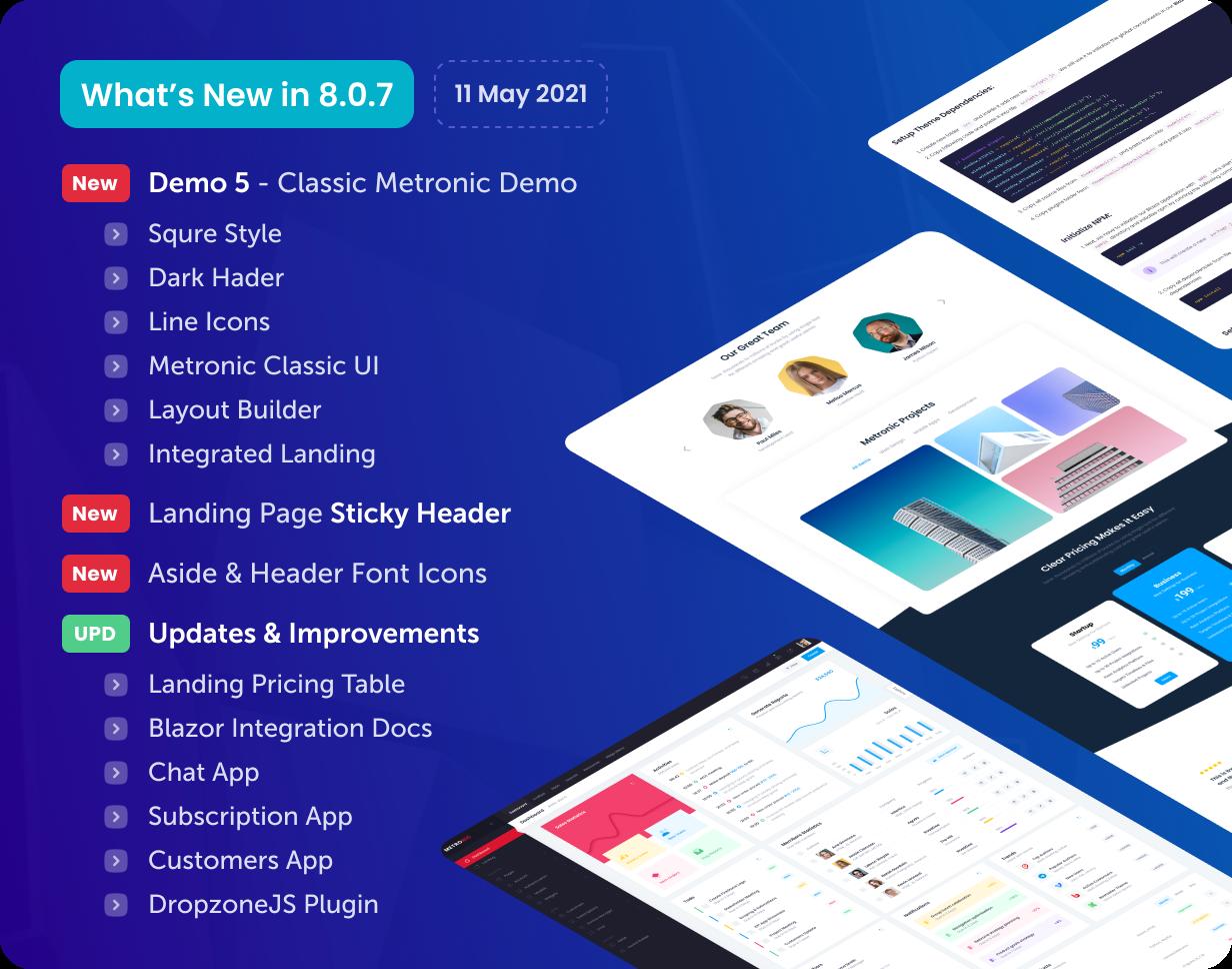 Metronic - Bootstrap 4/5 HTML, VueJS, React, Angular & Laravel Admin Dashboard Theme - 27