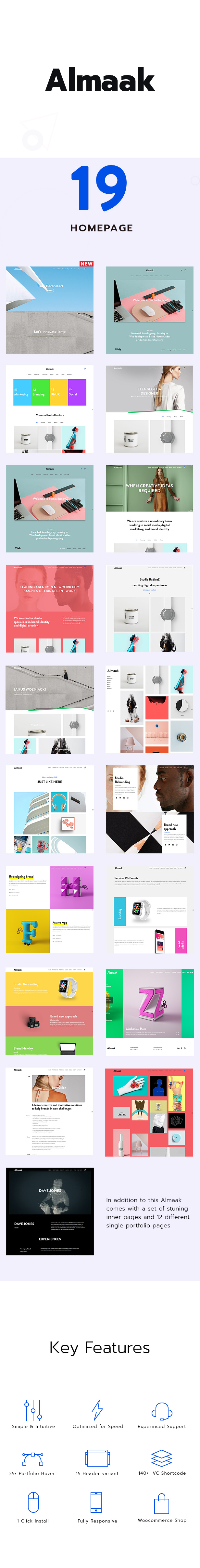 Almaak - Modern and Clean Theme for professionals - 1