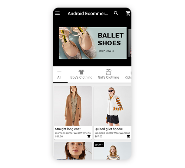 Android Ecommerce - Universal Android Ecommerce / Store Full Mobile App with Laravel CMS - 34