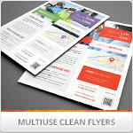 Multipurpose Corporate Flyers, Magazine Ads Vol 12