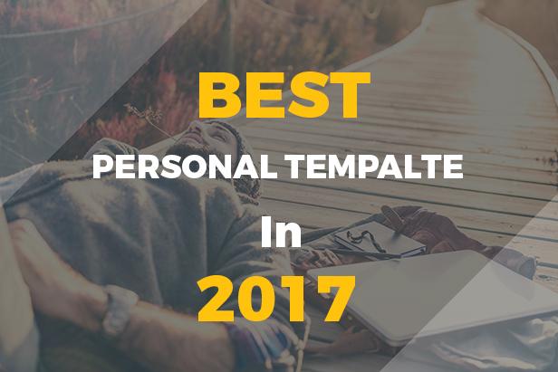 Cooper - Creative  Responsive Personal  Template