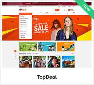 Topdeal - Multipurpose Marketplace WooCommerce WordPress Theme