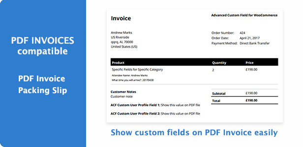 Advanced Custom Fields for WooCommerce - 6