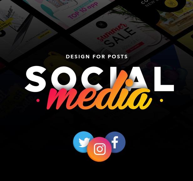 social media design for posts by easyedit videohive. Black Bedroom Furniture Sets. Home Design Ideas