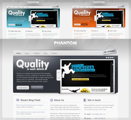 PHANTOM - Climatic and Functional HTML Template - 1