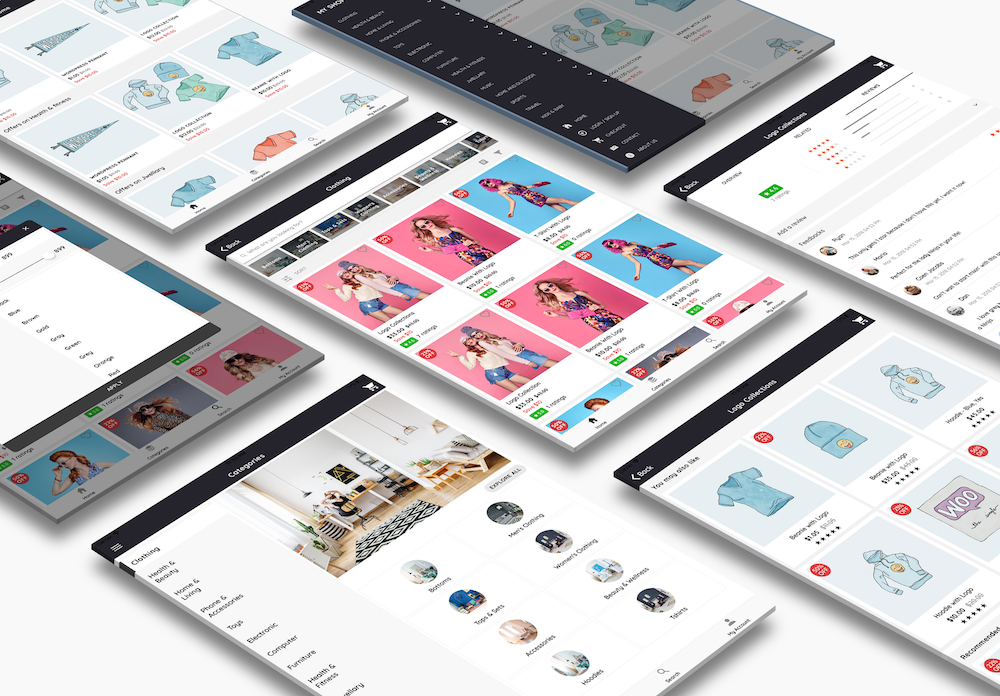 WooCommerce Mobile App ionic full application Lifestyle theme - 8