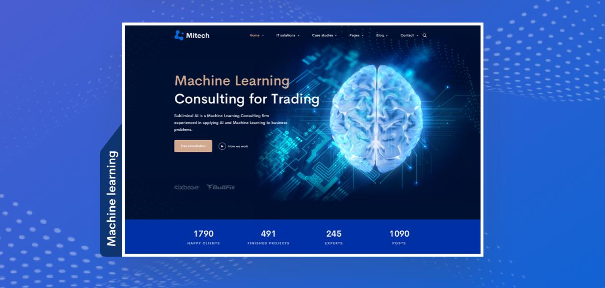 IT Solutions Mitech - Technology, IT Solutions & Service WordPress Theme - Big Update