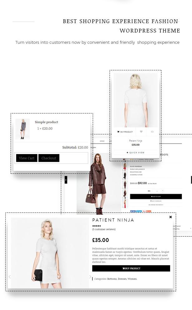 Great Shopping Experience Fashion WooCommerce WordPress Theme