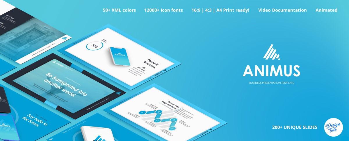 Massive X Presentation Template v.5.5 Fully Animated - 24