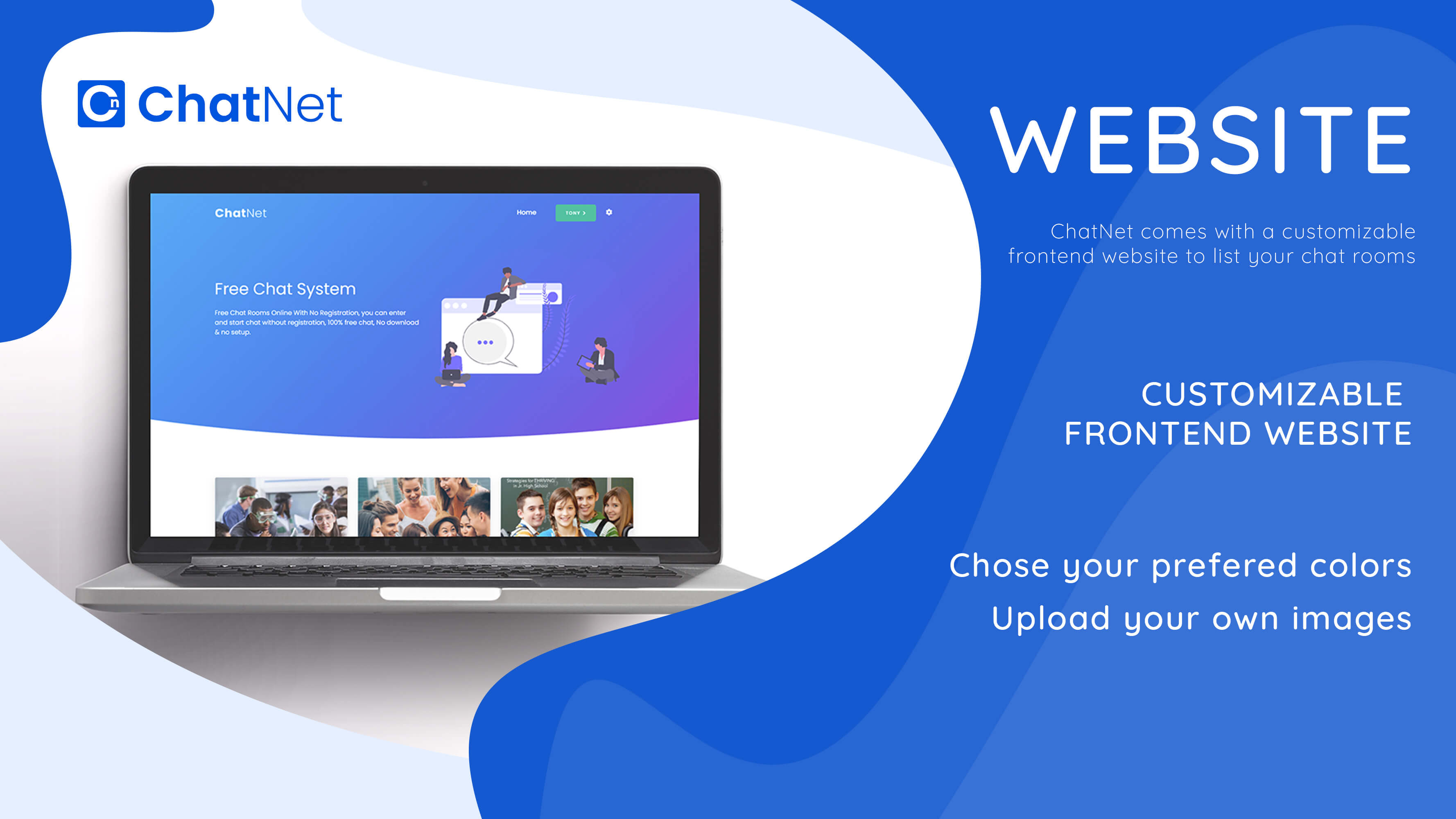 ChatNet - PHP Ajax Chat Room & Private Chat Script - 4