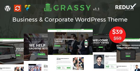 Grassy WordPress