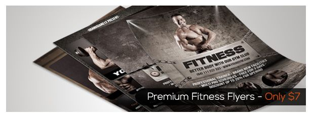 Fitness Center Brochure Tri-fold - 2